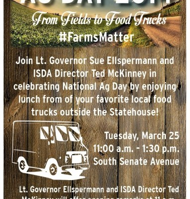 Indiana Ag Day March 25, 2014 | From Fields to Food Trucks