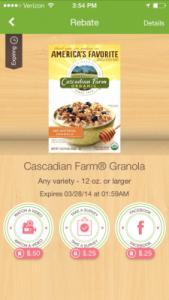 Cascadian Farm Ibotta offer