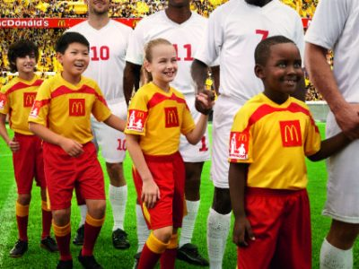 McDonald's Player Escort program