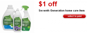 Seventh Generation coupon