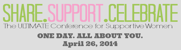 Share Support Celebrate conference code