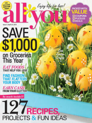 All You Magazine discount subscription