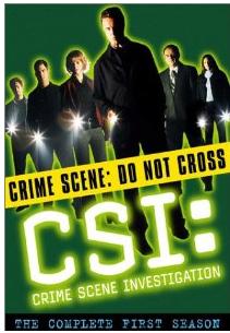 Save up to 80% on CSI Single Seasons on DVD
