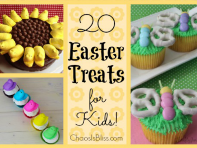 20 Easter Treats for Kids, easy and yummy recipes!