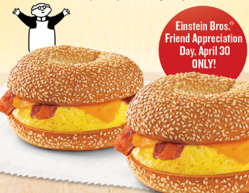Einstein Bros Coupon | Buy One Get One Free (4/30/14)