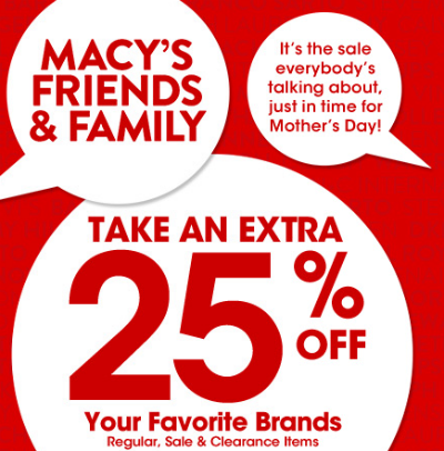 Macy's Friends & Family