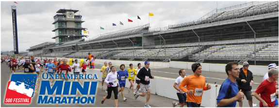 Getting Fit for OneAmerica 500 Festival 5K | Part I, Slow Go