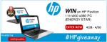 HP Pavilion giveaway
