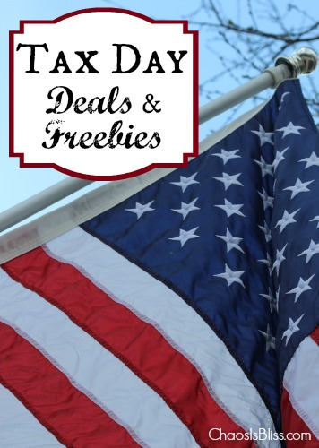 Tax Day Deals & Freebies 2014