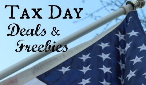 Tax Day 2015 Deals & Freebies