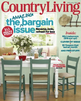 Country Living discount subscription