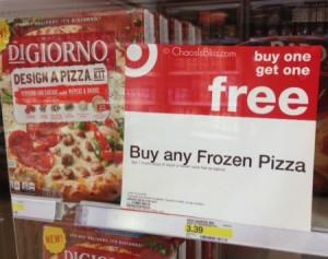 Target BOGO free pizza