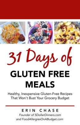 31 Days of Gluten Free Meals