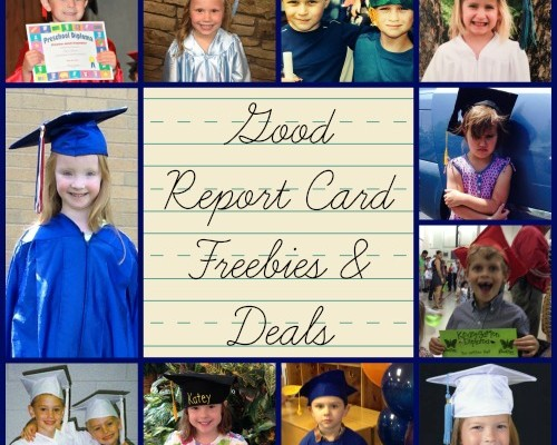 Good Report Card Freebies & Deals