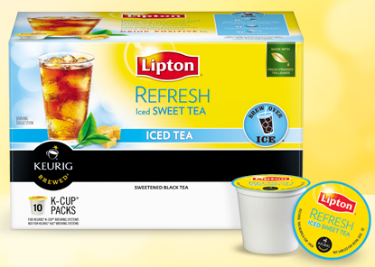 Free Lipton Tea Kcups sample