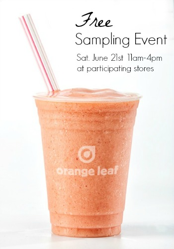 Orange Leaf Smoothie