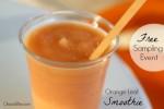 Orange Leaf free smoothie sampling