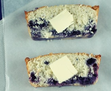 Blueberry Lemon Loaf