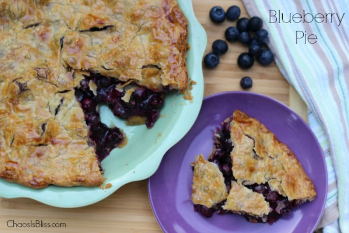 This is the easiest, and best Blueberry Pie recipe you'll ever need.