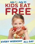 Bob Evans Free Kids Meal