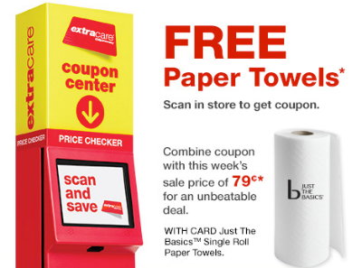 CVS Free Paper Towels