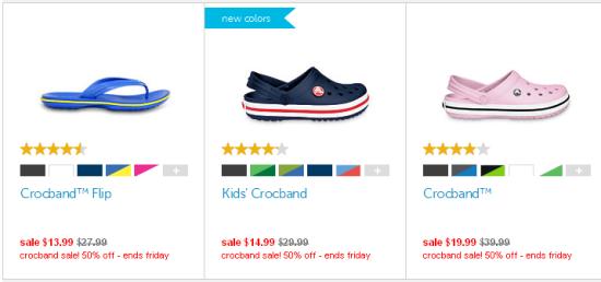 Crocband Sale