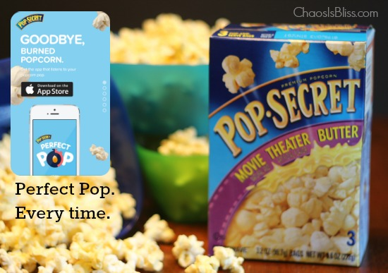 Secret for Perfect Popcorn? Pop Secret Perfect Pop App