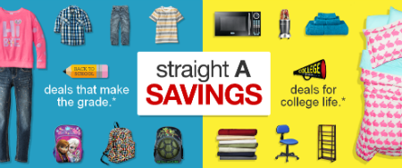 Target | Save $10 on a $40 Purchase + Stackable Coupon Code