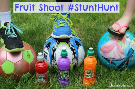 "Target Practice: Have a ""Ball"" with Fruit Shoot #StuntHunt"