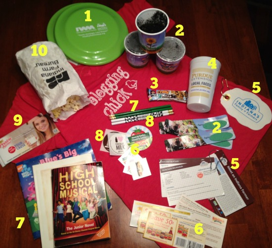 Indiana State Fair Freebies