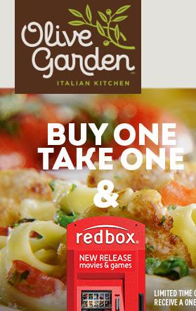 Olive Garden Redbox