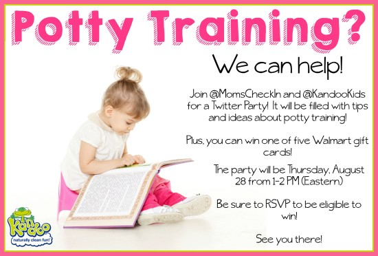 Potty Training Twitter Party