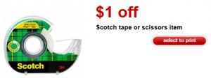 Target Scotch Tape coupon