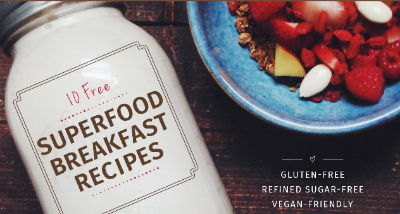 FREE Abe's Market Superfood Breakfast Recipes eCookbook