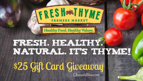 Fresh Thyme Farmer's Market | NEW Indy Stores + $25 Gift Card Giveaway