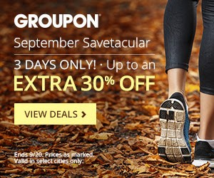 Groupon Savetacular