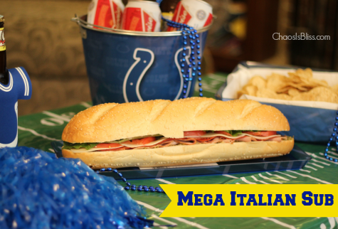 5 Tips for a Fun Football Party | Mega Italian Sub Recipe