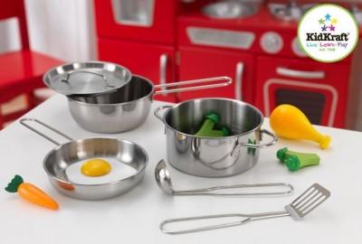 KidKraft Deluxe Cookware