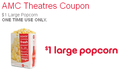 Today's Tips on B105.7: AMC Large Popcorn $1 + More