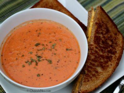 Basil Tomato Bisque recipe