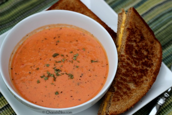 Basil Tomato Bisque Recipe
