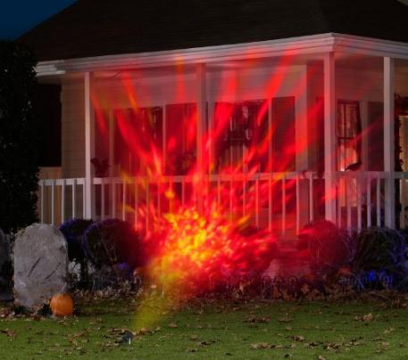 LED fire lightshow