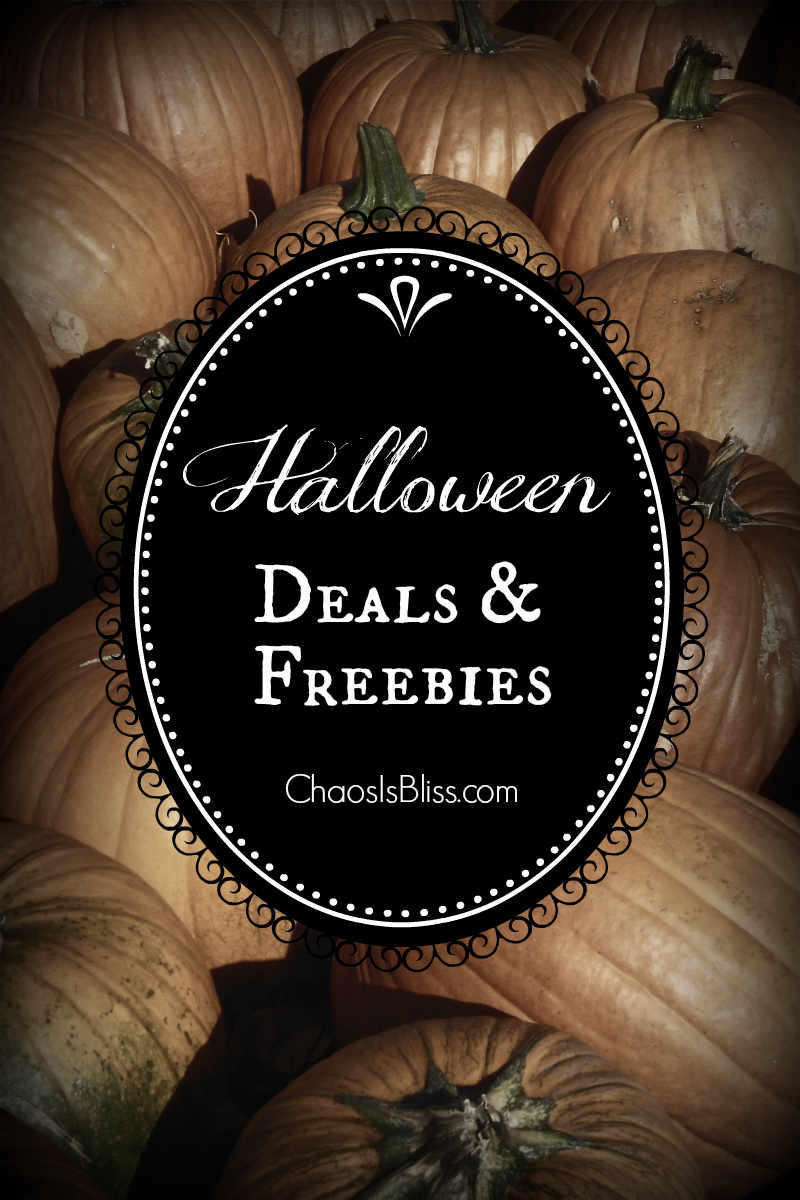 Enjoy this list of Halloween deals and freebies for restaurants and retailers near you!
