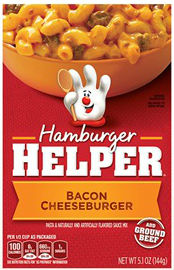 Free ground beef with Hamburger Helper purchase