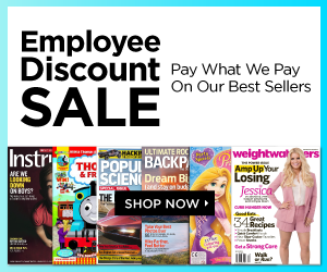 Discount Mags Employee Pricing Sale | As Low as $3.40/year