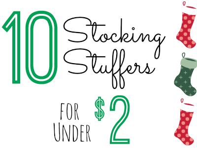 Stocking Stuffers under $2.00