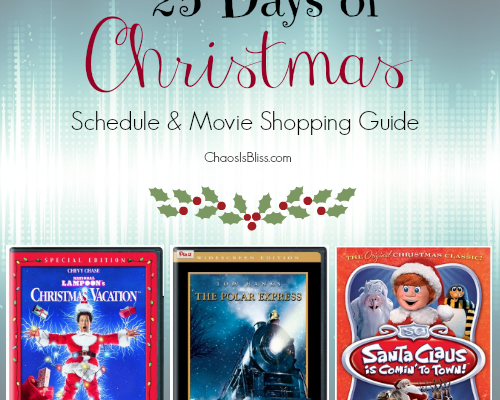 ABC's 25 Days of Christmas Schedule & Movie Shopping Guide
