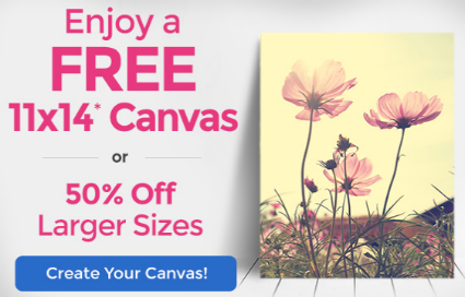 Canvas People | FREE 11″ x 14″ Canvas or 50% off Larger Size