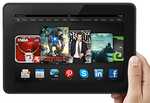 *Today Only* Save $140 on a Kindle Fire HDX 8.9″