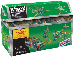 705-piece K'Nex Model Building Set only $19.99
